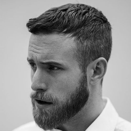 Elegant 29 best short hairstyles with beards for men 2020 guide Mens Short Facial Hair Styles Inspirations