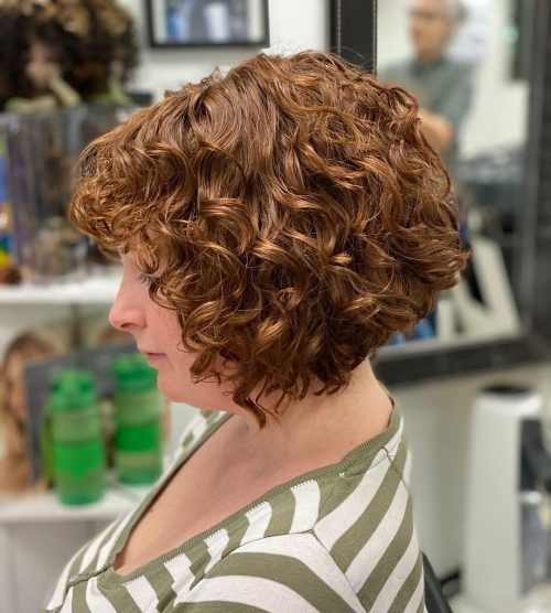 Elegant 29 short curly hairstyles to enhance your face shape Hairstyles For Short Curly Hair Choices