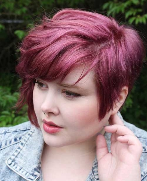 Elegant 30 best short hairstyles for fat faces and double chins Short Hair Styles For Plus Size Women Choices