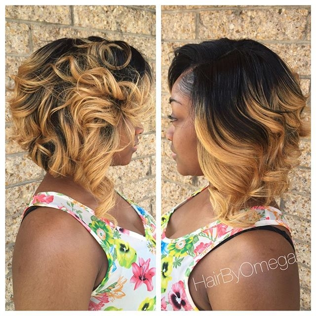 Elegant 30 trendy bob hairstyles for african american women 2021 African American Hairstyles With Blonde Highlights Designs