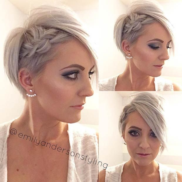 Elegant 31 wedding hairstyles for short to mid length hair Very Short Hair Wedding Styles Inspirations