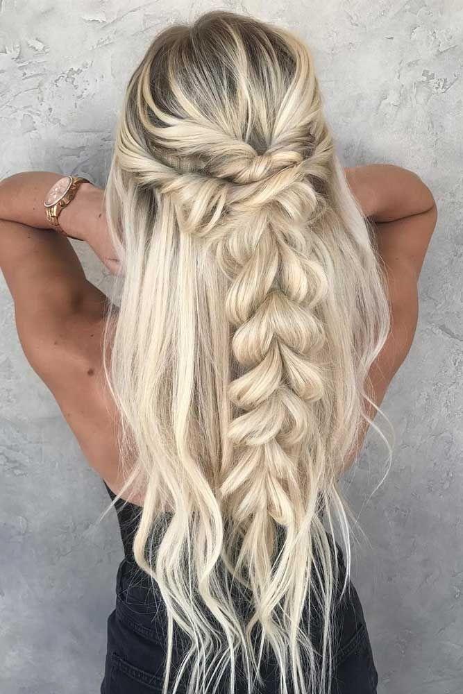 Elegant 39 cute braided hairstyles you cannot miss braids for long Cute Braid Hair Styles Choices