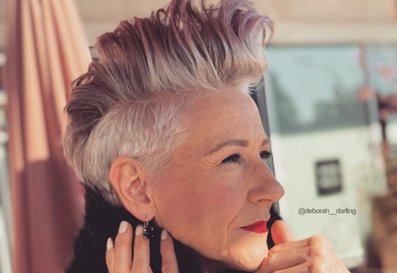 Elegant 40 cute youthful short hairstyles for women over 50 Woman Short Hair Style Inspirations