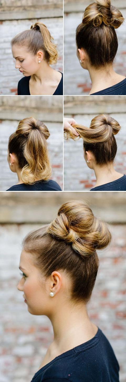 Elegant 40 easy hair tutorials for long and short hair craftionary Hairstyles Tutorials Short Hair Ideas