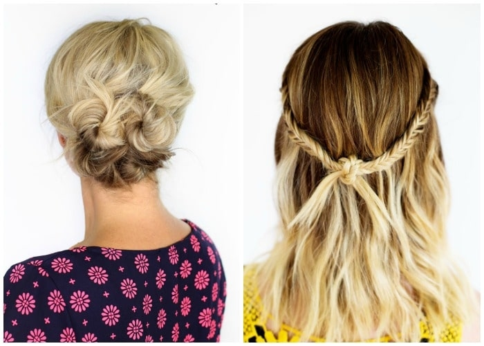 Elegant 40 elegant prom hairstyles for long short hair somewhat Easy Hairstyles For Prom Short Hair Inspirations