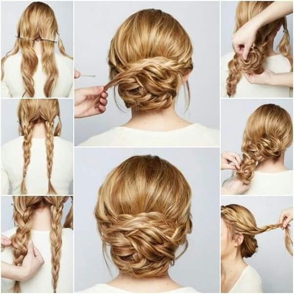 Elegant 40 everyday hair updo tutorials for summer Braided Updos For Long Hair Tutorial Ideas