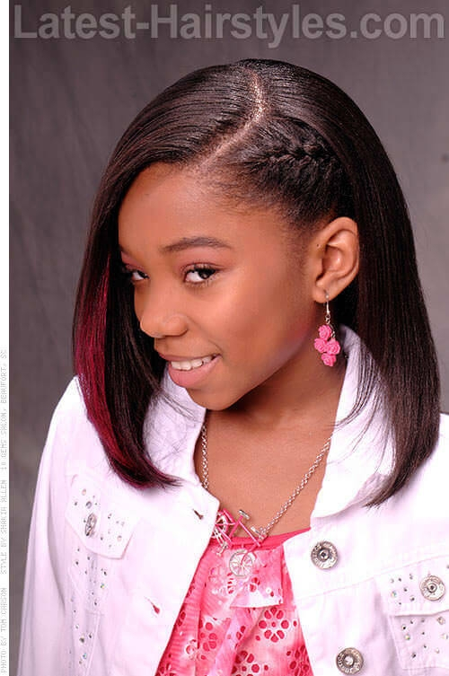 Elegant 41 top shoulder length hairstyles for black women in 2020 Medium Length Hairstyles For African American Women Designs