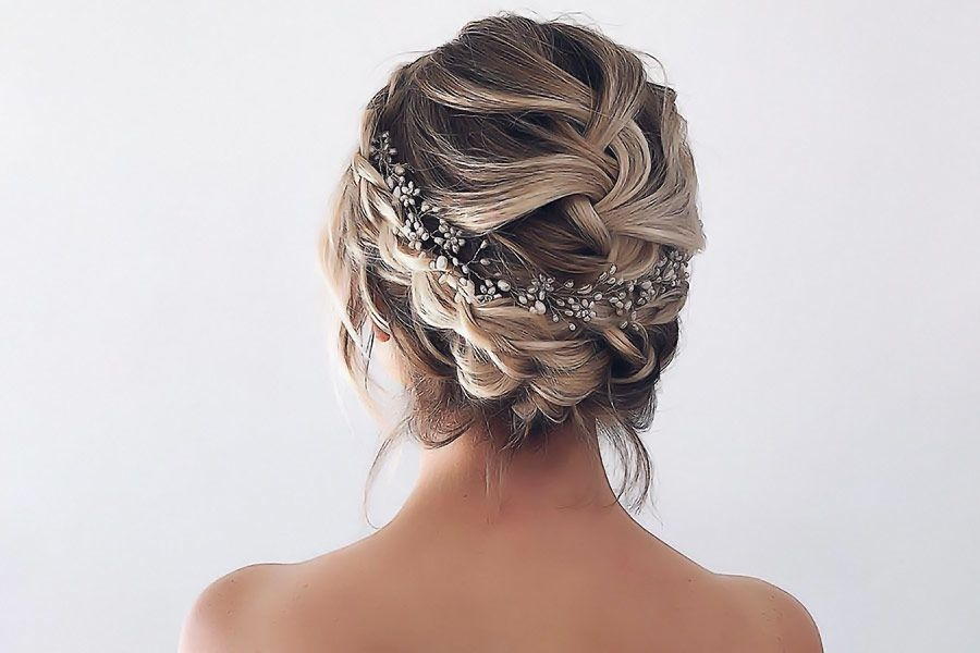 Elegant 42 braided prom hair updos to finish your fab look Prom Hairstyles For Long Hair Updos Braided Inspirations
