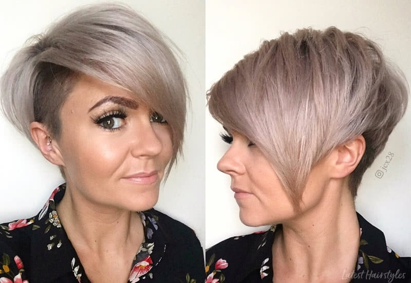 Elegant 42 sexiest short hairstyles for women over 40 in 2020 Short Ladies Haircuts Choices
