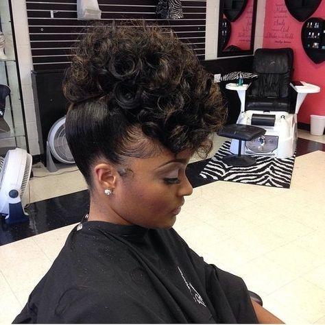Elegant 43 black wedding hairstyles for black women in 2020 African American Up Hairstyles Designs