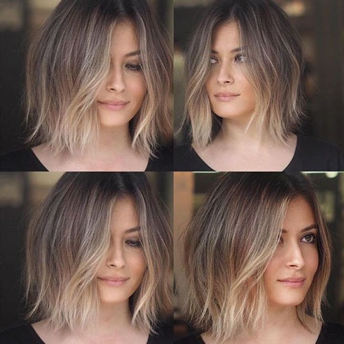 Elegant 45 beautiful brown to blonde ombre short hair Short Hair Ombre Styles Ideas