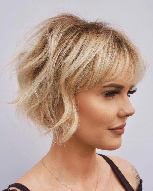 Elegant 45 best short hairstyles for thin hair to look cute Short Haircut For Fine Hair Choices