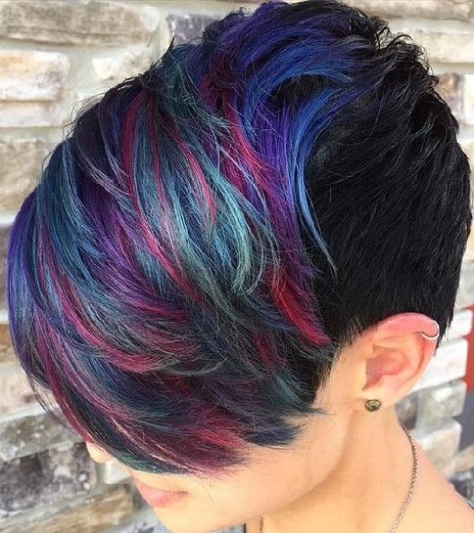 Elegant 45 stunning short hair color ideas bring life to your look Short Haircuts With Color Ideas