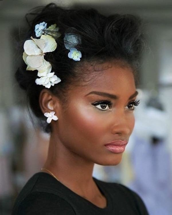Elegant 47 wedding hairstyles for black women to drool over 2018 Wedding Updos For Short African American Hair