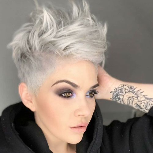 Elegant 50 edgy asymmetrical haircuts for women to get in 2020 Asymmetric Short Haircuts Inspirations