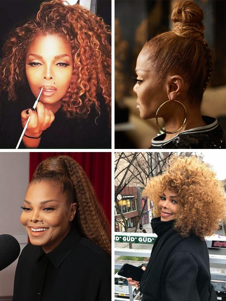 Elegant 50 hottest black celebrity hairstyles you can copy new African American Celebrity Hairstyles
