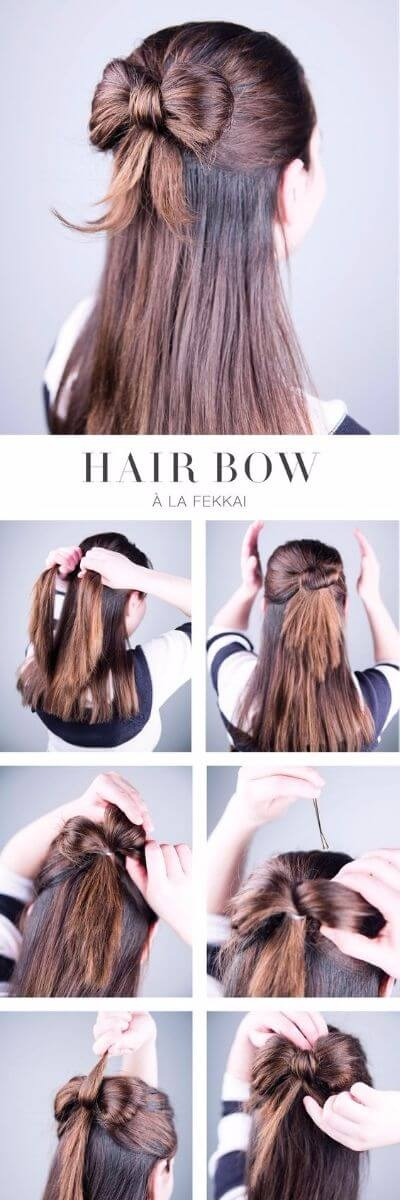 Elegant 50 incredibly easy hairstyles for school to save you time Easy Hairstyles For Very Short Hair To Do At Home Step By Step Inspirations