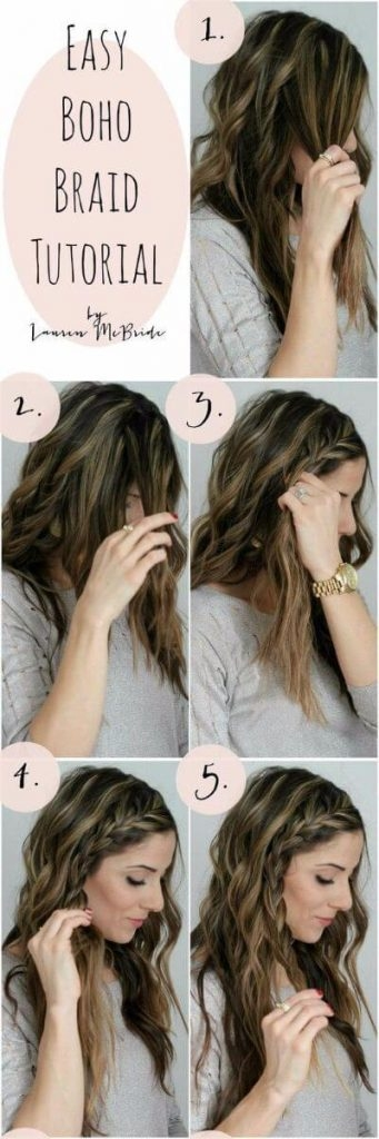 Elegant 50 incredibly easy hairstyles for school to save you time Easy School Hairstyles For Short Thick Hair Inspirations