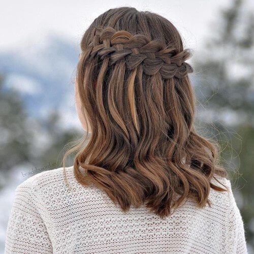 Elegant 50 medium length hairstyles we cant wait to try out hair Easy Braided Hairstyles For Medium Length Hair Inspirations