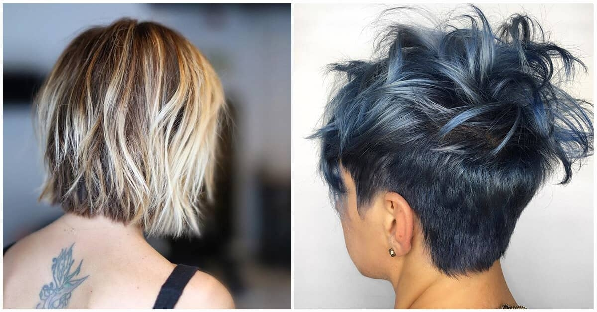 Elegant 50 quick and fresh short hairstyles for fine hair in 2020 Short Haircuts For Fine Hair Ideas