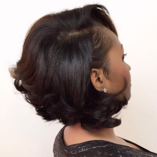 Elegant 50 sensational bob hairstyles for black women hair motive African American Layered Bob Hairstyle Photos