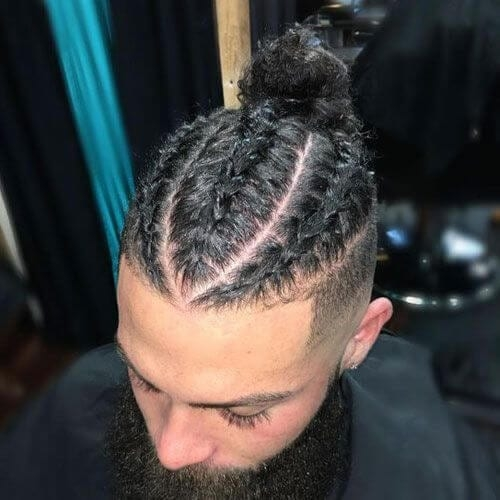Elegant 55 hot braided hairstyles for men video faq men Men Hair Braid Styles Ideas