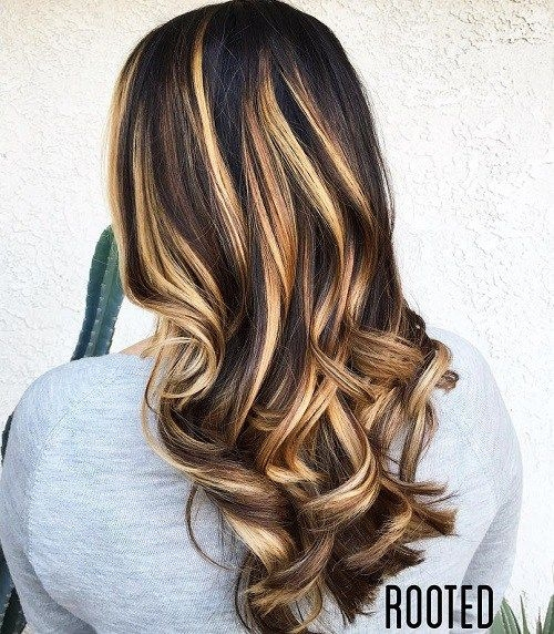 Elegant 60 hairstyles featuring dark brown hair with highlights African American Hairstyles With Blonde Highlights Designs