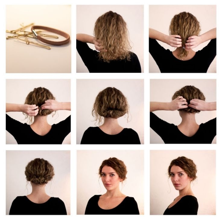 Elegant 9 quick and easy hairstyles for days with frizzy hair hair Cute Easy Hairstyles For Short Wavy Hair Inspirations