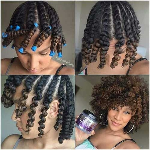 Elegant 9 short curly hairstyle for black women natural hair African American Hairstyles Curly Hair Designs