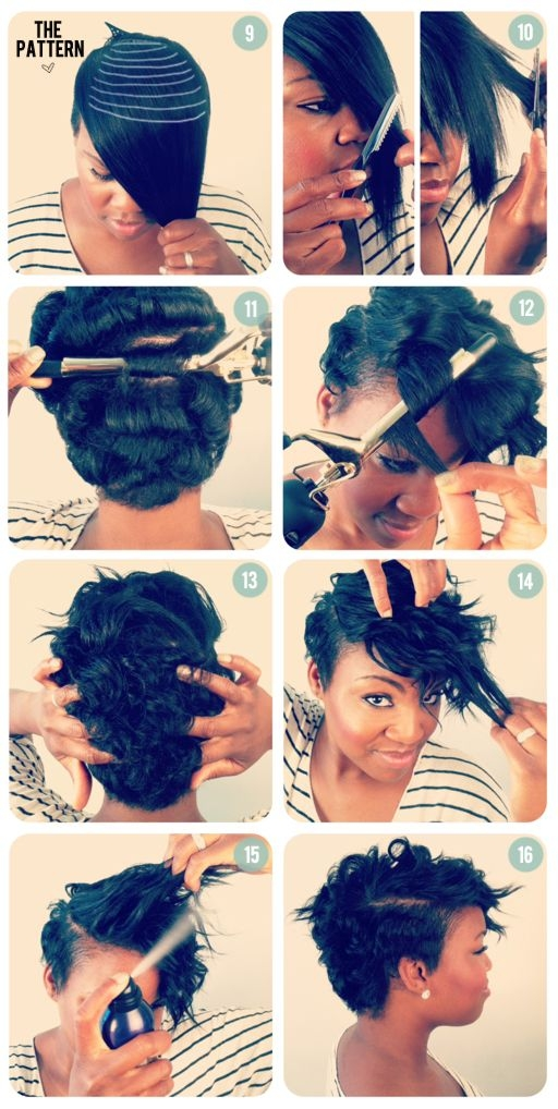 Elegant adding length to short hair natural hair styles curly Short Black Hairstyles To Do At Home Choices