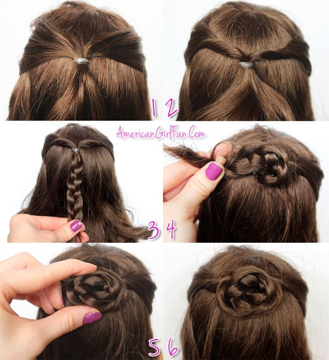 Elegant americangirlfan american girl hairstyles american girl Cool Easy Hairstyles For American Girl Dolls Designs