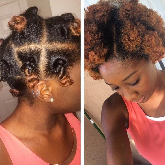 Elegant bantu knots tutorial plus 25 hot pictures Bantu Knot Out Styles Short Hair Ideas
