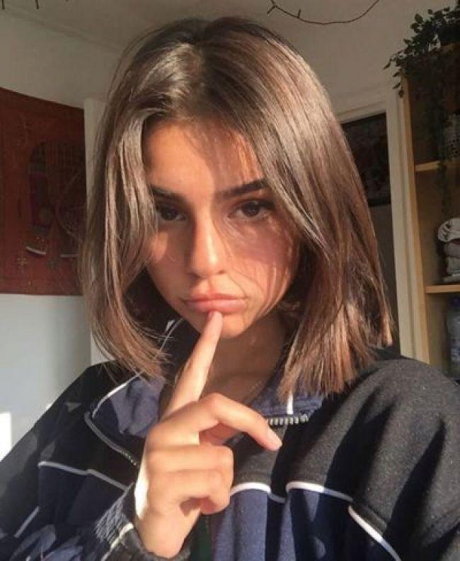 Elegant beautyblog vibe in 2019 pinterest hair hair styles Cute Short Hairstyles Pinterest Choices