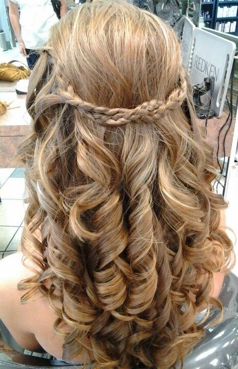 Elegant best hairstyle for office medium hair styles prom hair Prom Hairstyles For Medium Hair With Curls And Braids Inspirations