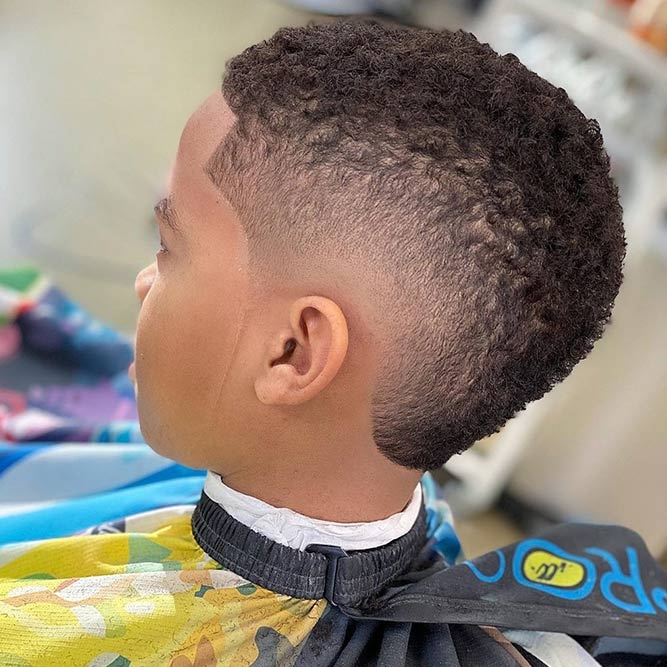Elegant black boys haircuts compilation to cultivate a good taste in African American Boy Hairstyles Ideas