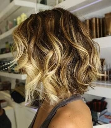 Elegant bob curly blow dry google search short ombre hair hair Blow Dry Short Hair Styles Inspirations