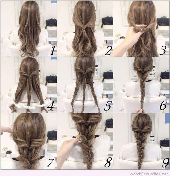 Elegant braid hairstyle tutorial braids for long hair braided Braid Hairstyles For Long Hair Tutorial Inspirations
