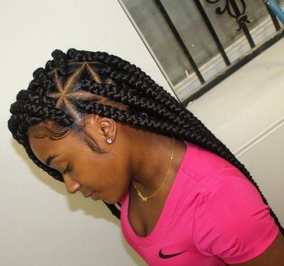 Elegant braid styles for natural hair growth on all hair types for Natural Black Hair Braid Styles Choices