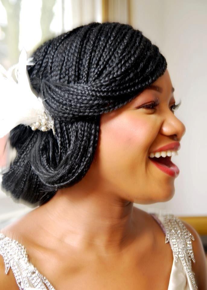 Elegant braided hairstyles for black women over 50 40 micro Wedding Hairstyles For Micro Braids Ideas