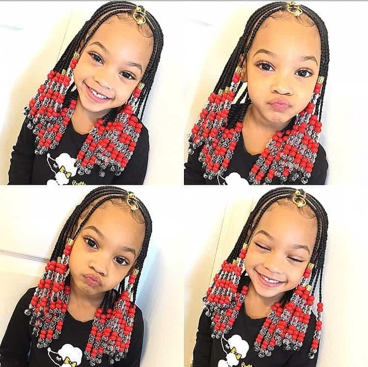 Elegant braids for kids 100 back to school braided hairstyles for kids Kids Braids Hairstyles Ideas