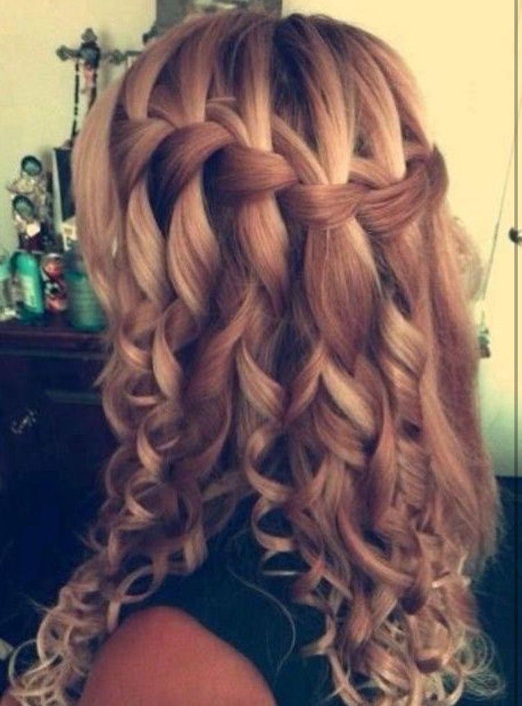 Elegant cute hairstyles for school dances url httpsk Braided Hairstyles For School Dances Inspirations
