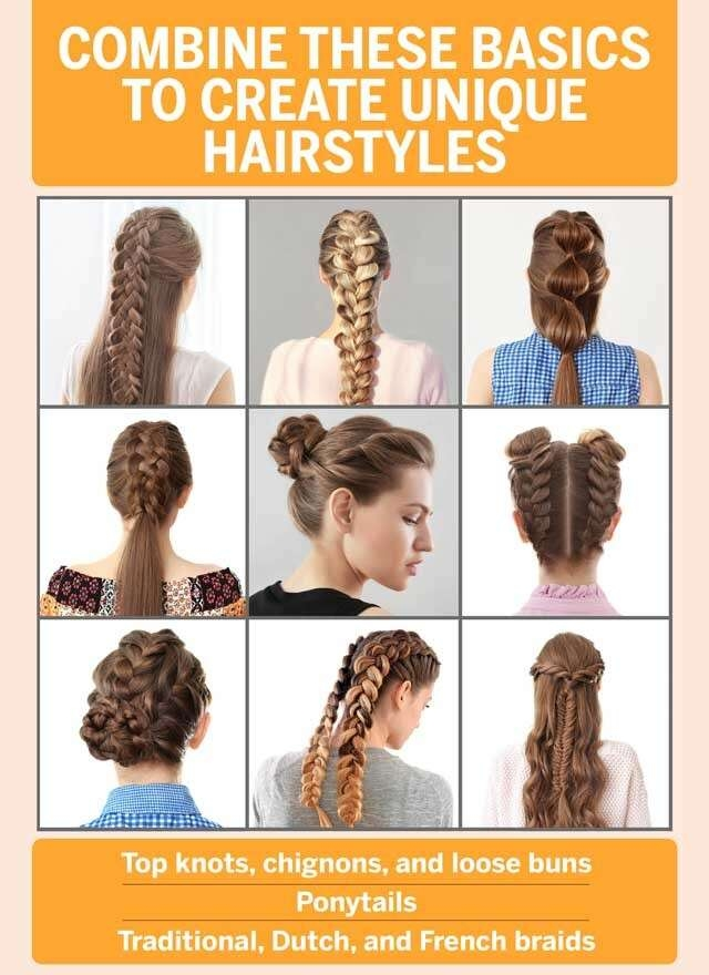 Elegant easy hairstyles and hair hacks for you feminain Easy Hairstyles For Long Hair No Braids Choices