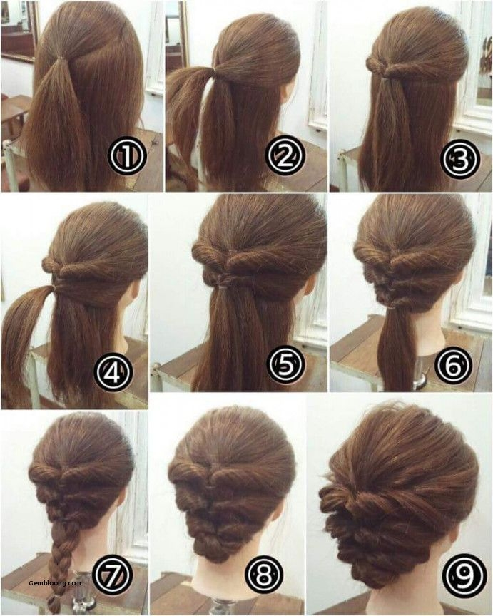 Elegant easy hairstyles for short hair step step step step Hairstyle For Short Hair For Wedding Step By Step Choices