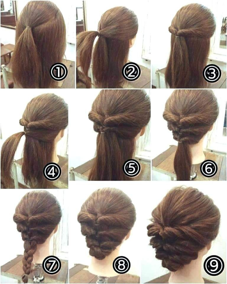 Elegant easy hairstyles short hair easy hairstyles for short curly Cute Hairstyles To Do At Home For Short Hair Ideas