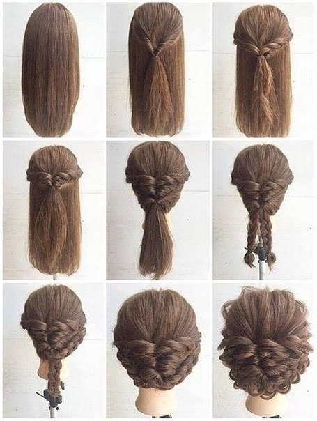 Elegant fashionable braid hairstyle for shoulder length hair long Easy Braided Hairstyles For Medium Length Hair Inspirations