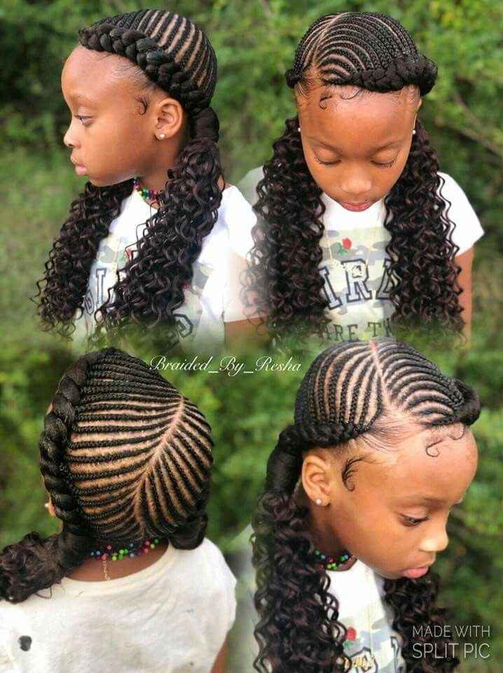 Elegant follow fentybinder for more girls hairstyles Braids Hairstyles For Black Kids Inspirations