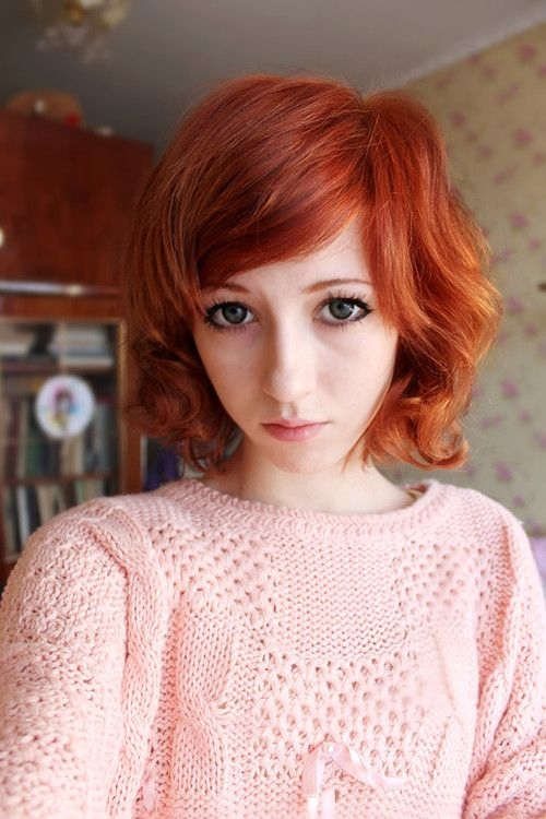 Elegant fuckyeah hair cute short red hairstyle hair inspiration Cute Hairstyles For Short Red Hair Inspirations