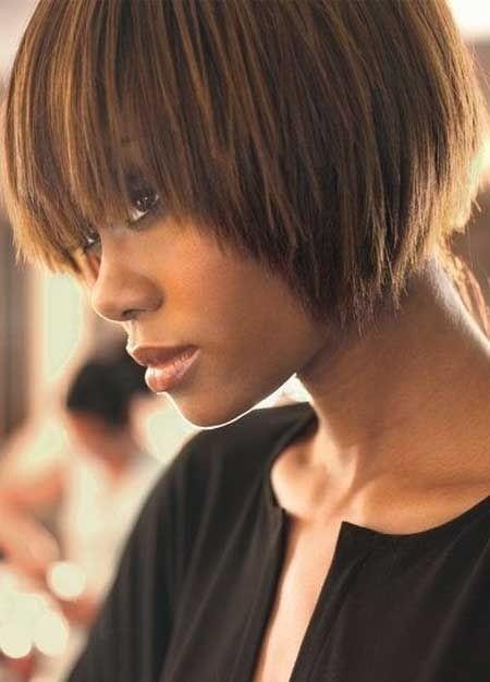 Elegant groovy short bob hairstyles for black women styles weekly Short Bob Haircuts For Black Women Inspirations