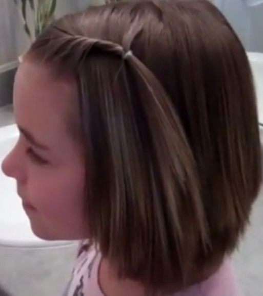 Elegant hair style for kids short hair hair style kids Hair Styles For Kids With Short Hair Ideas