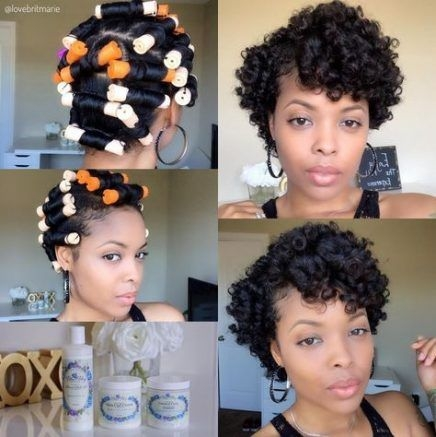Elegant hairstyles black hair perm rods 19 super ideas permed Roller Set Styles For Short Hair Choices
